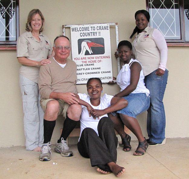 crane foundation Ann, George, Bonni, Wendy, Lindiwe.res