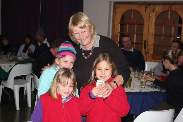 Carolyn and her grandchildren