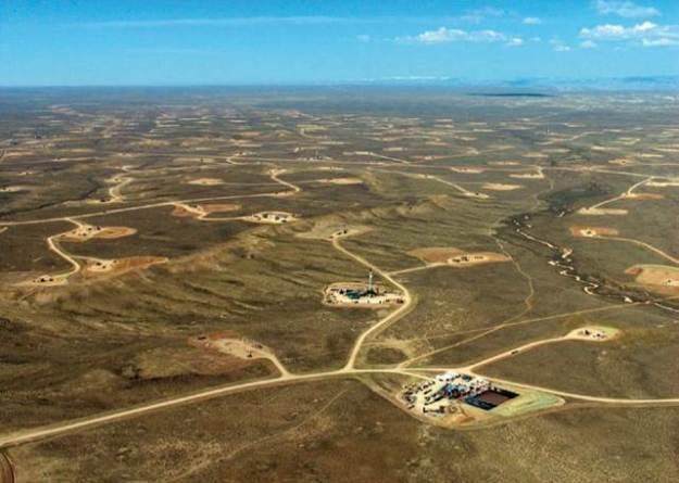 fracking wells