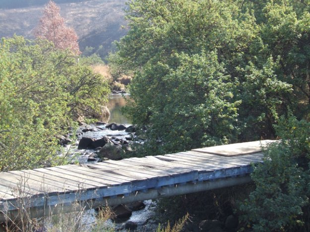 Bridge over Elands River from Endeavour