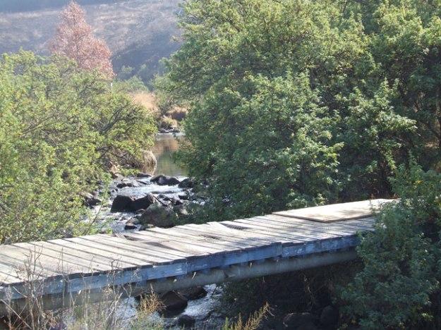 Bridge over Elands River from Endeavour
