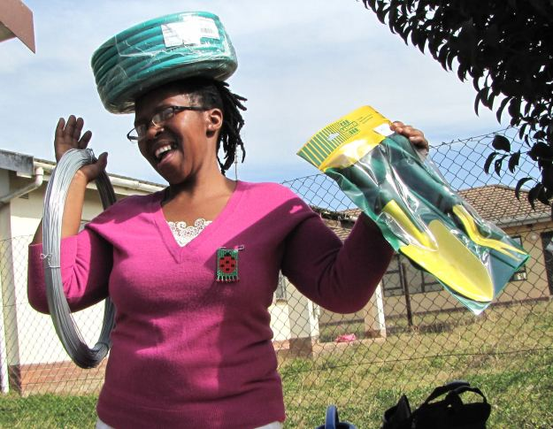 r mpop ntombenhle is thrilled