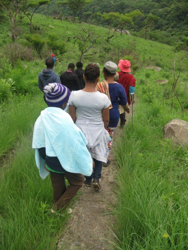 r hiking umgeni valley by Nkulu Mdladla