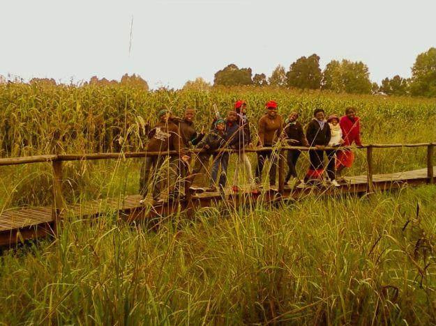 r kids at karkloof wetland