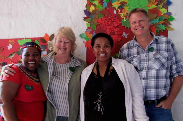 Thenjiwe Ngcobo, Carolyn Goble, Flo Buthelezi, Andrew Anderson res