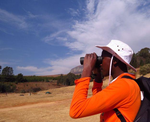 r binoculars