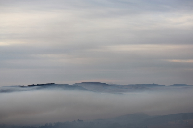 Smoke in the valley