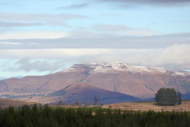 Snow on Mahqwa Mt