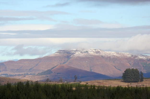 Snow on Mahqwa Mt