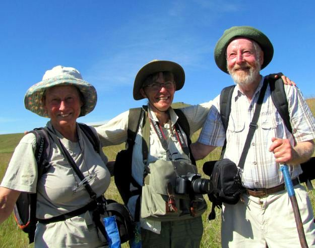 CREW: Barbara, Christeen and David in Impendle