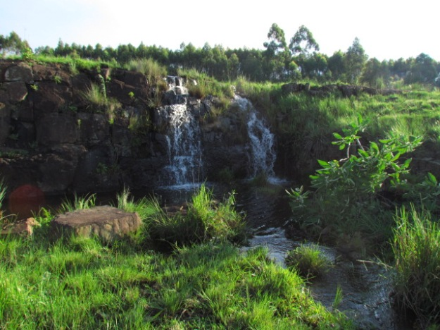 Waterfall flowing for 1st time this week